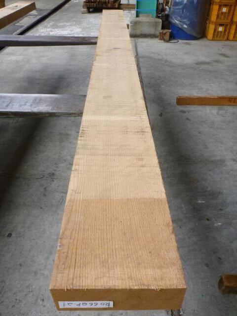 ノーザン・レッドオーク 66mm 柾目 自家工場製材