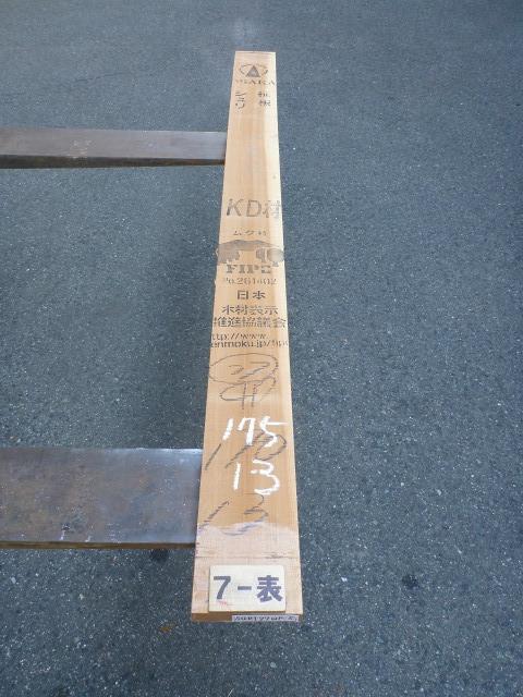 シュリサクラ 27ミリ 柾目