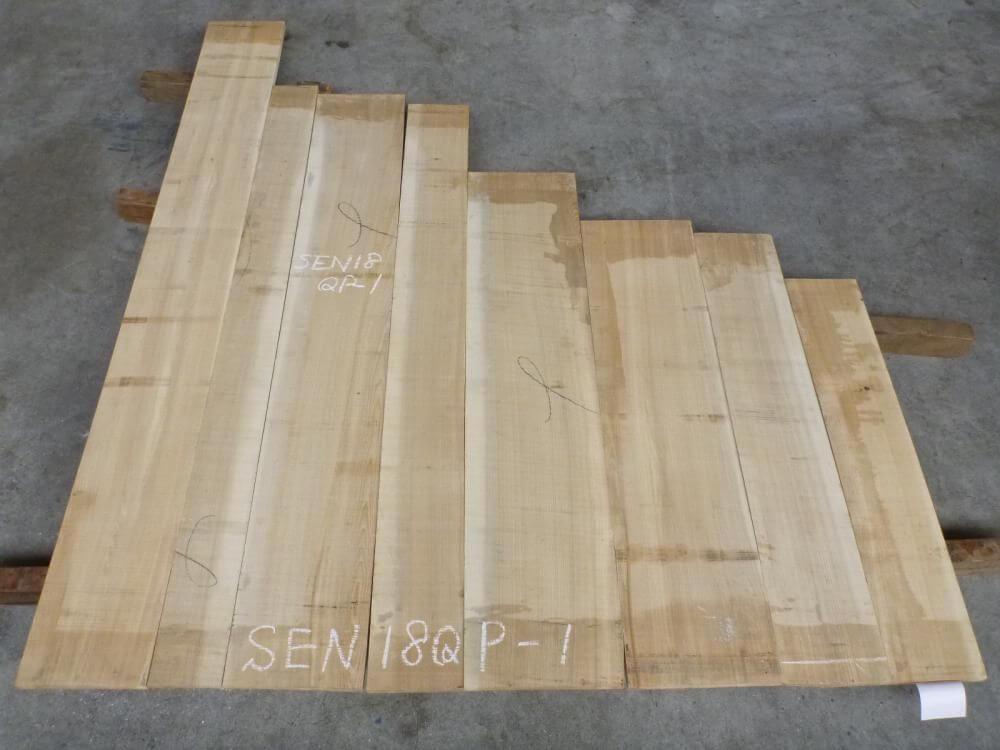 セン 18ミリ 柾目板 SEN18QP-1