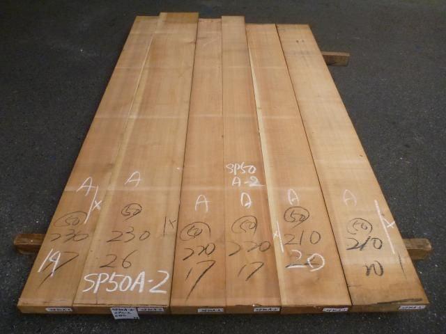 スプルース 50ミリ 板