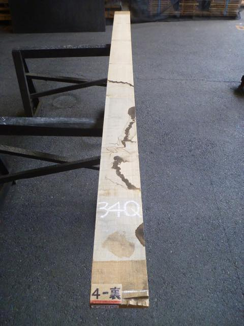 タモ 34ミリ 柾目板