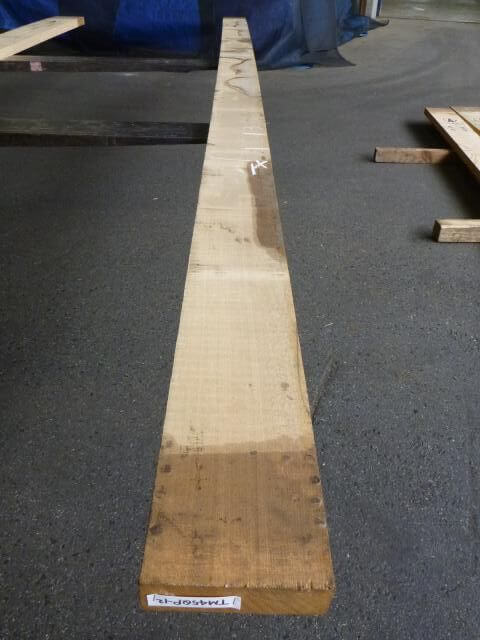 タモ 45ミリ 柾目板