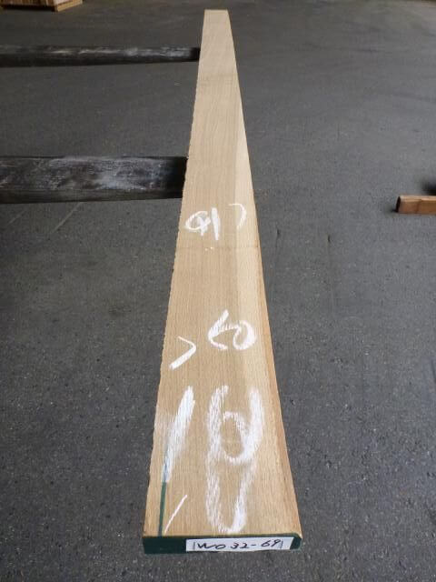 グレーシャル・ホワイトオーク 5/4 柾目