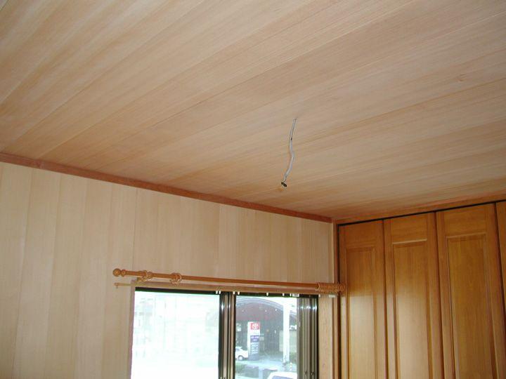 天井板の施工写真