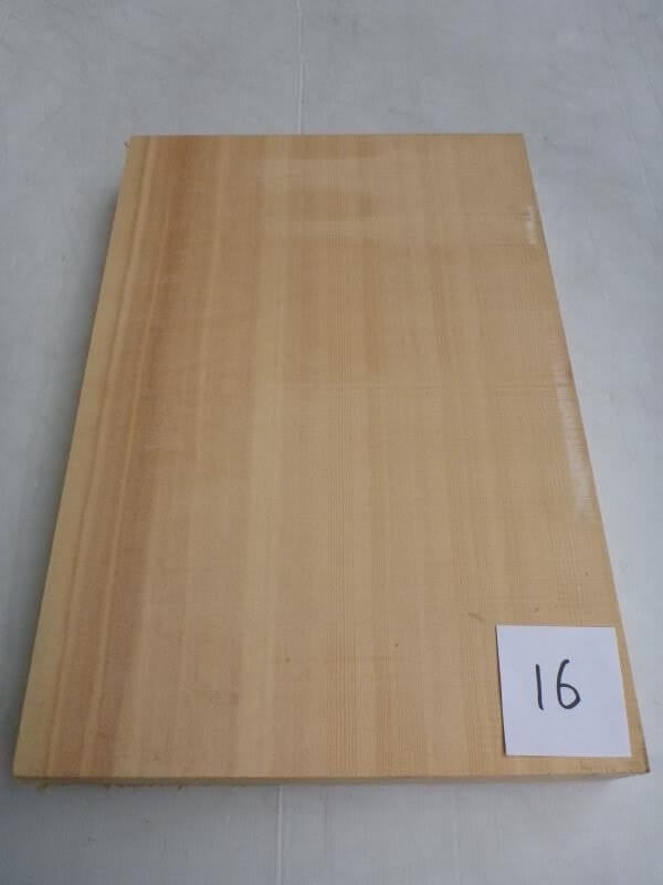 スプルース 俎板 SPCB-16