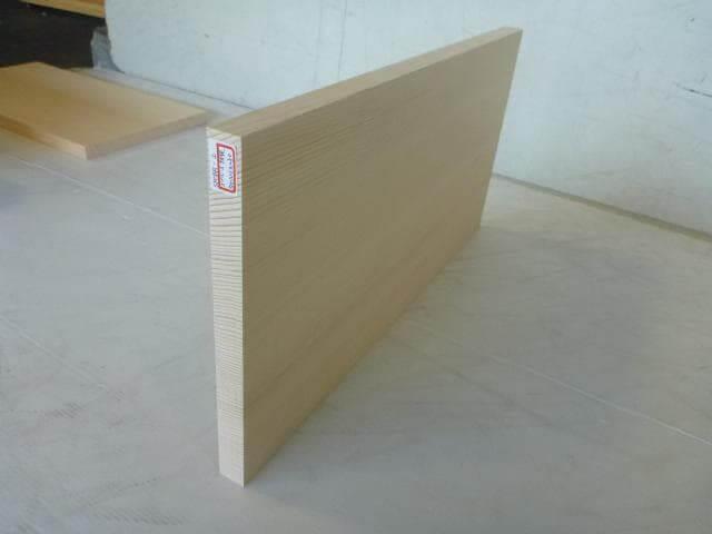 スプルース まな板 弊社グレードAA SPCBR-2
