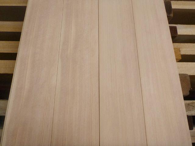 スプルース サウナ用板材 105mm幅 日本製・自社工場製材 オーダー品