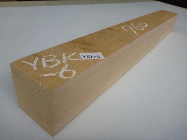 ヨーロッパビーチ 角材 ノンスチーム乾燥 ラフ材 YBK-6