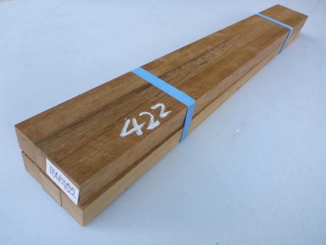 チーク 角材 TEAK-422