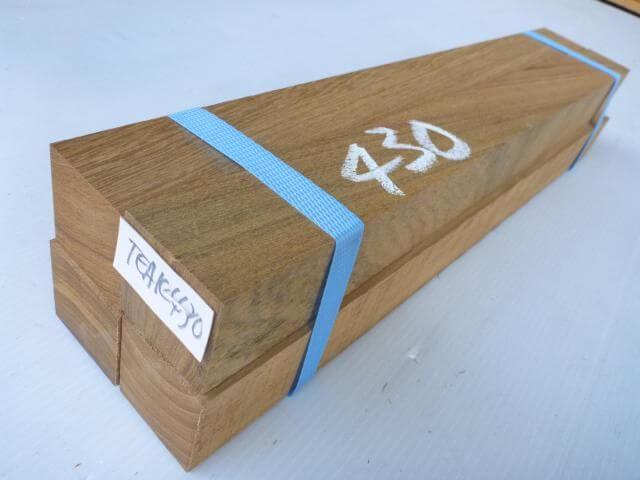 チーク 角材 TEAK-430