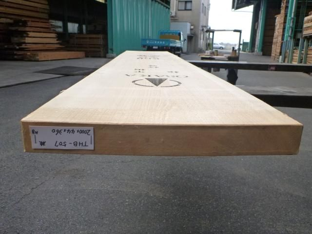 岐阜県産ヒノキ 一枚板・厚盤 THB-507