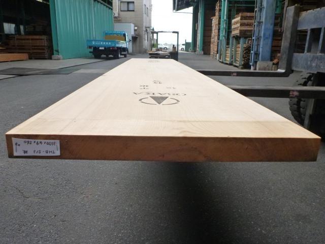 岐阜県産ヒノキ 一枚板・厚盤 THB-513
