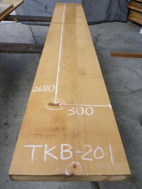 木曽ヒノキ 一枚板・厚盤 TKB-201