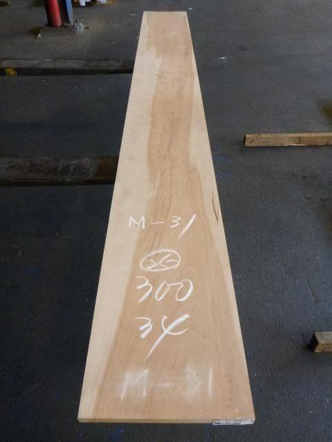 マカバ 板目・平板 60番サンダー仕上 M-31