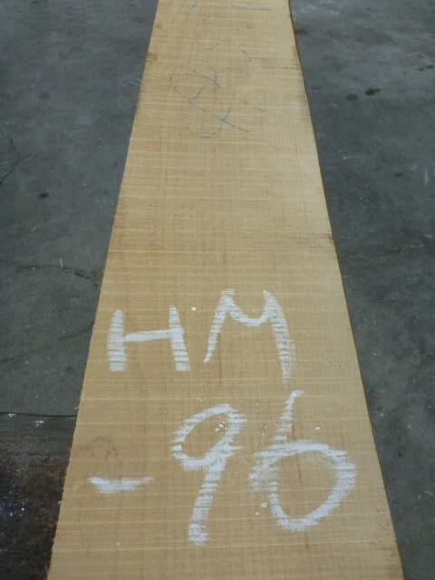 ハードメープル柾目板 国内挽き HM-96