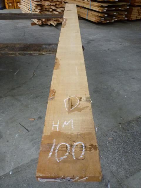 ハードメープル柾目板 国内挽き HM-100