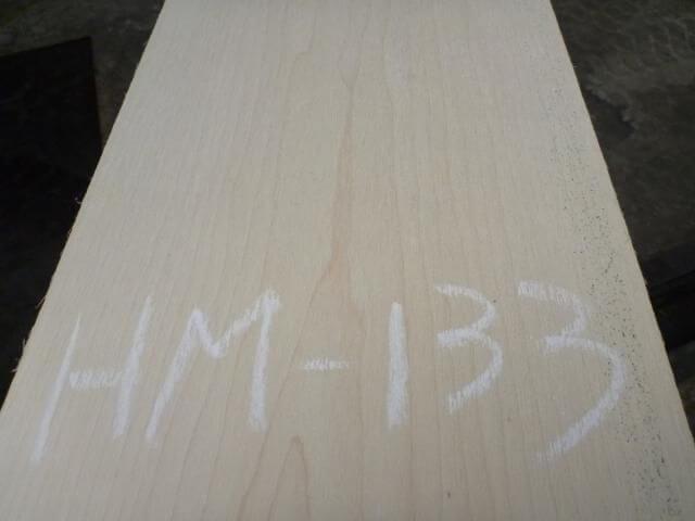 ハードメープル柾目板 国内挽き HM-133