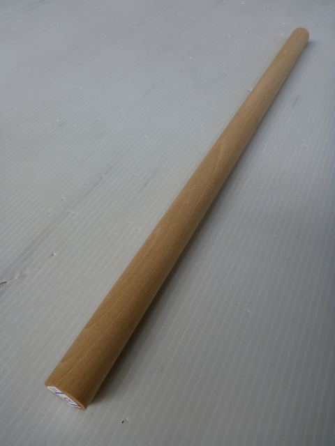カツラ材 径20mm 丸棒 赤身 KRRB-20