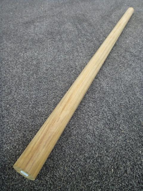 チーク材 径35mm 丸棒 TERB-35