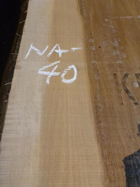 ナラ 両耳付き板 NA-40