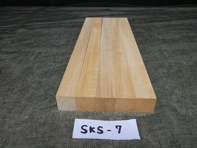 シナ角材 S4S仕上げ