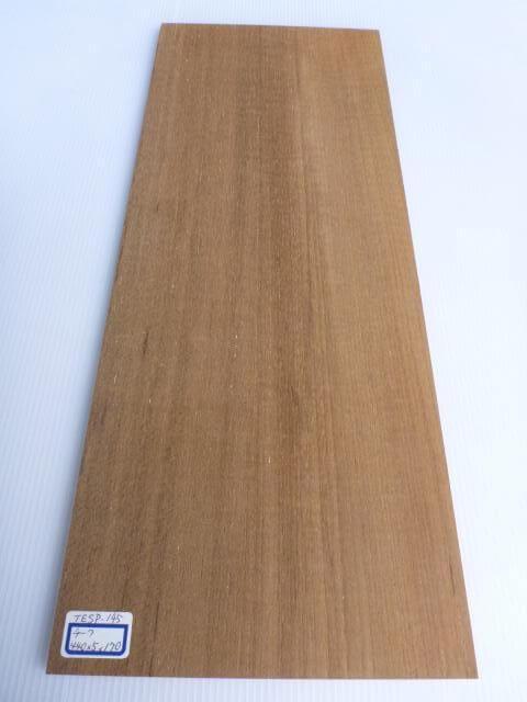 チーク材 薄板 サンダー仕上げ TESP-145
