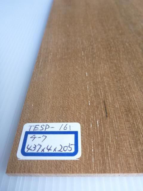 チーク材 薄板 サンダー仕上げ TESP-161