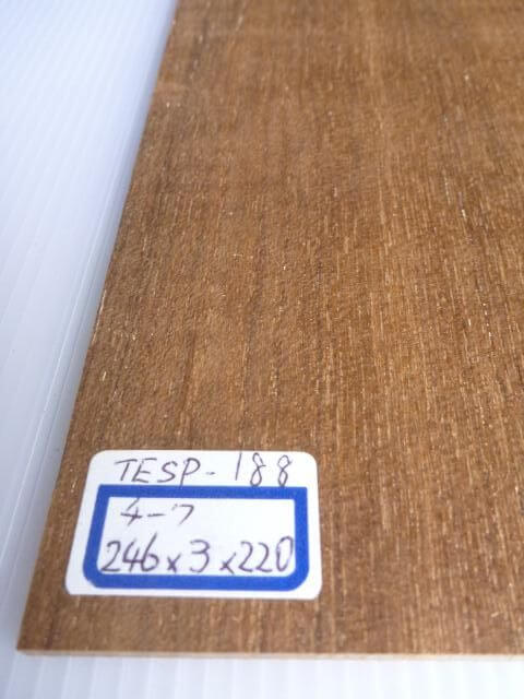 チーク材 薄板 サンダー仕上げ TESP-188
