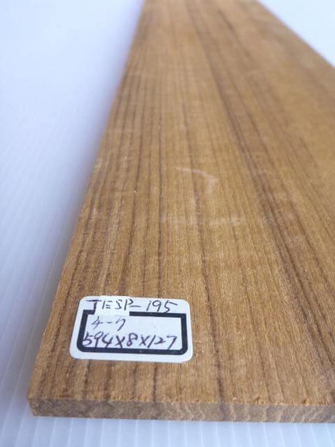 チーク材 薄板 サンダー仕上げ TESP-195