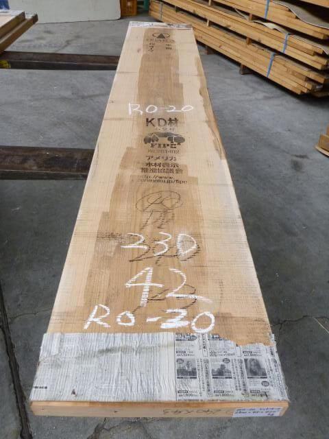 レッドオーク 耳断ち板目 RO-20