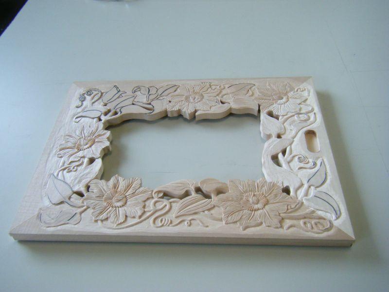 レリーフ用木材で作成した作品