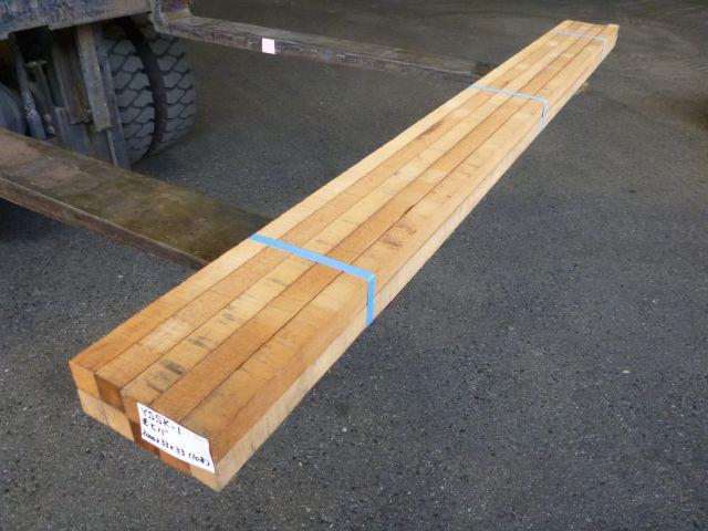 米ヒバ 角材 ラフ材 10本セット YSSK-1