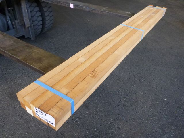 米ヒバ 角材 ラフ材 10本セット YSSK-4