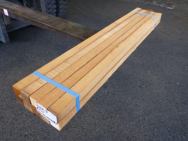 米ヒバ 角材 ラフ材 10本セット YSSK-9