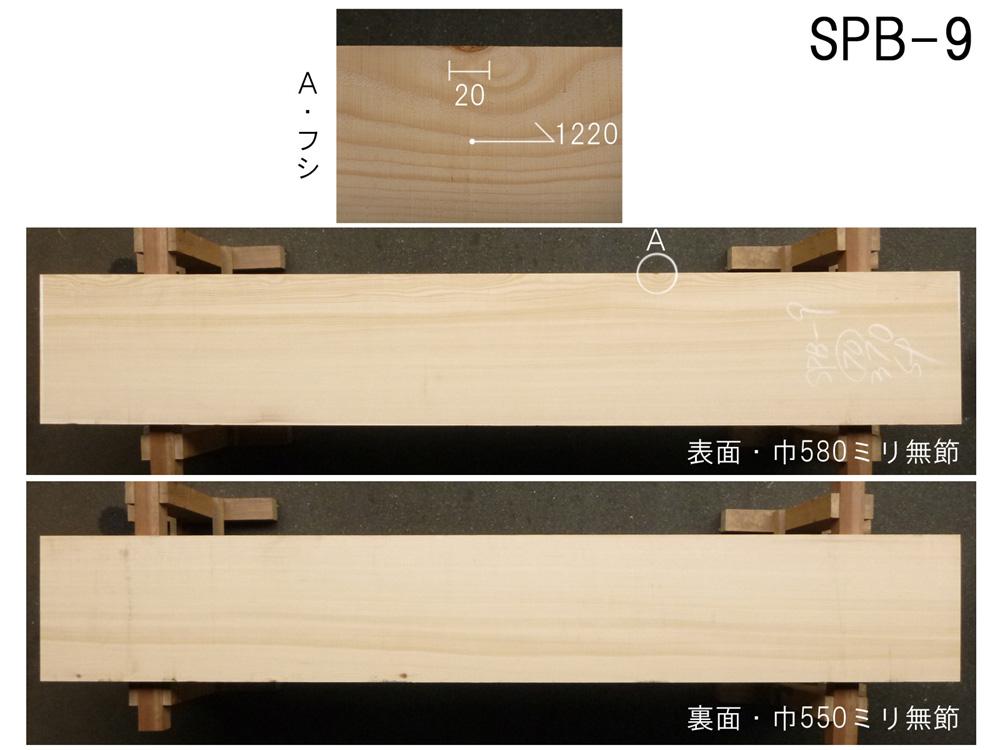 スプルース 和風高級店 カウンター用 SPB-9