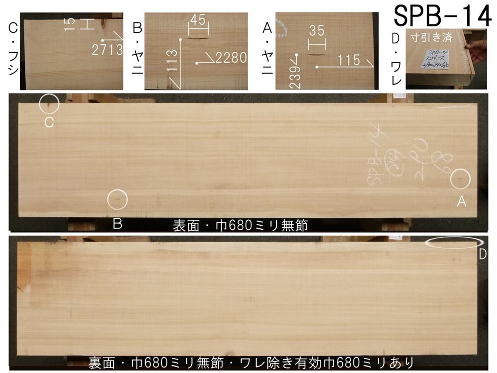 スプルース 和風高級店 カウンター用 SPB-14