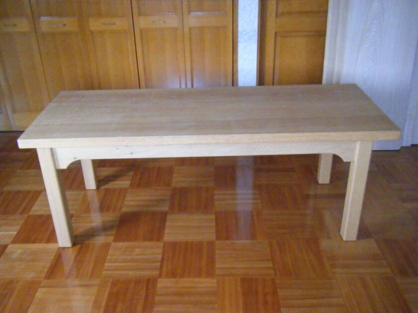 タモ ストレート テーブル TA-3