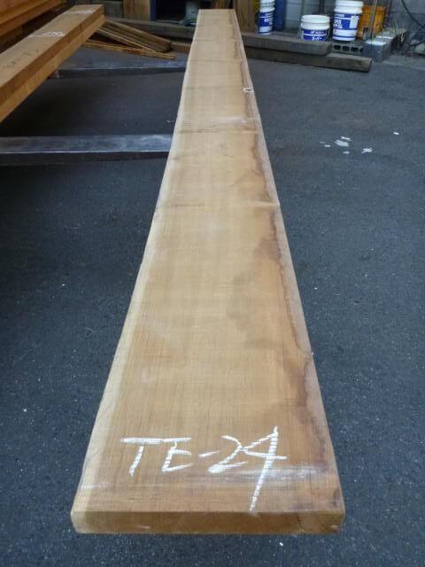 チ-ク 片耳付き 柾目板 TE-24