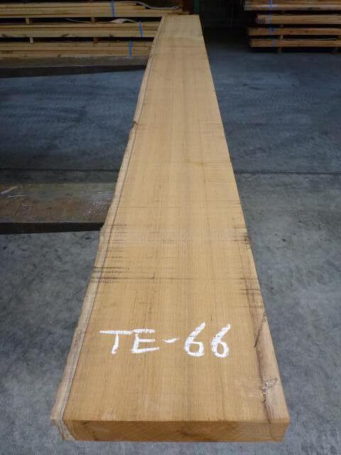 チ-ク 片耳付き 柾目板 TE-66