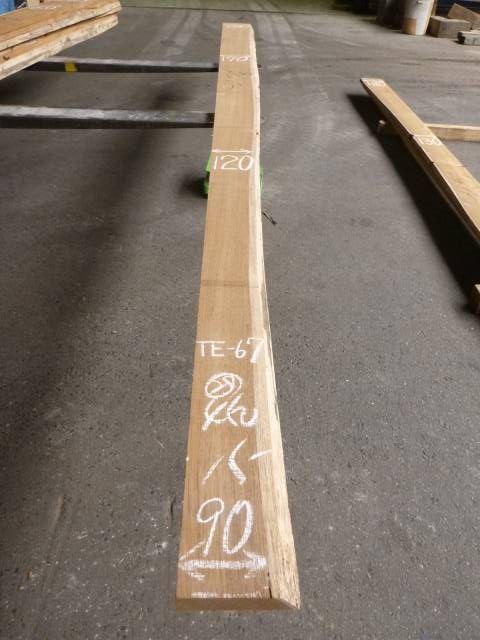 チ-ク 片耳付き 柾目板 TE-67