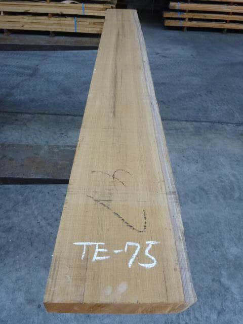 チ-ク 片耳付き 柾目板 TE-75