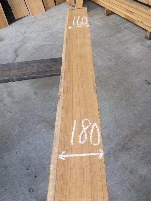 チ-ク 片耳付き 柾目板 TE-146
