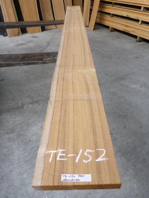 チ-ク 片耳付き 柾目板 TE-152