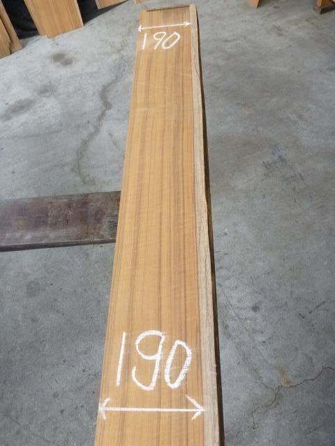 チ-ク 片耳付き 柾目板 TE-153
