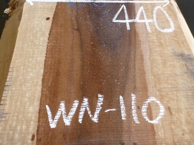 ブラック ウォールナット 両耳付き板 WN-110