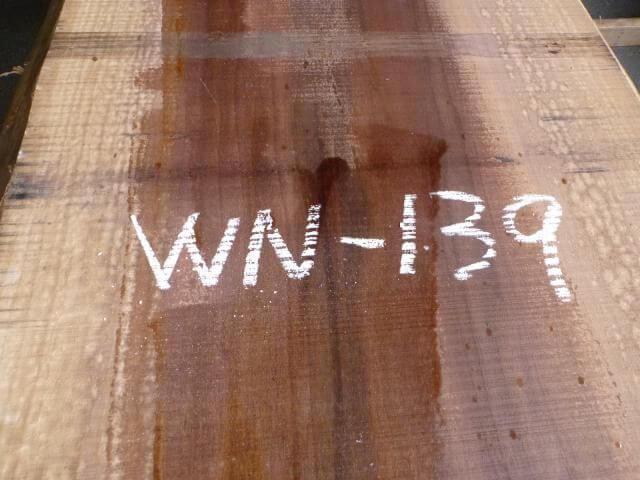 ブラック ウォールナット 両耳付き板 WN-139