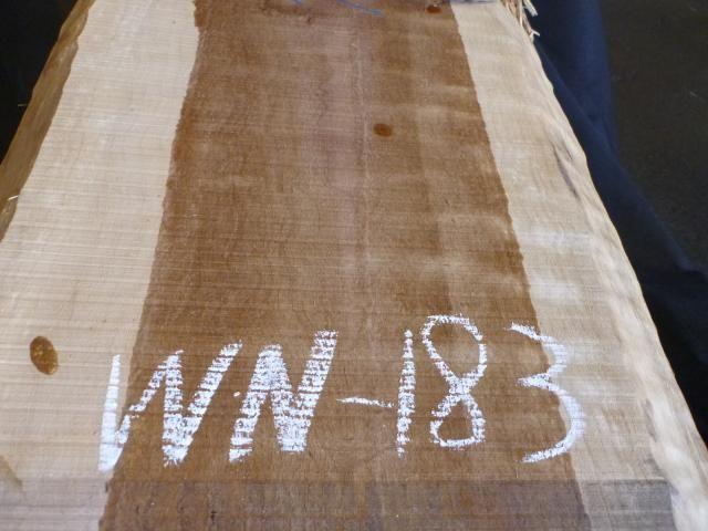 ブラック ウォールナット 両耳付き板 WN-183