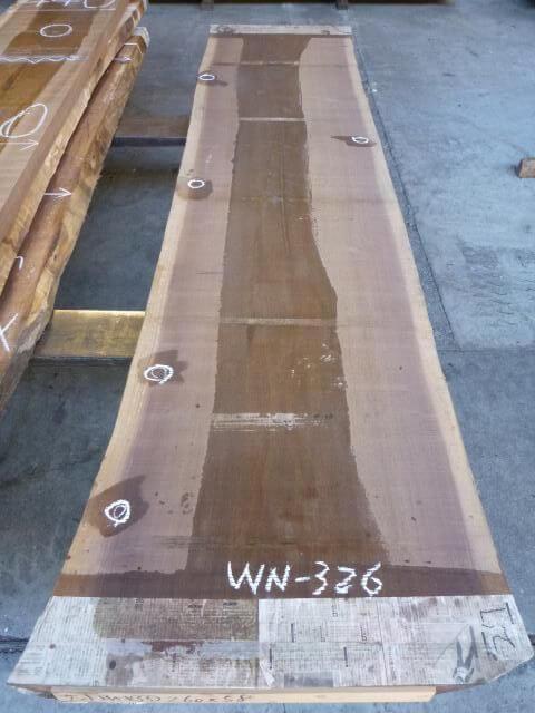 ブラック ウォールナット 両耳付き板 WN-326