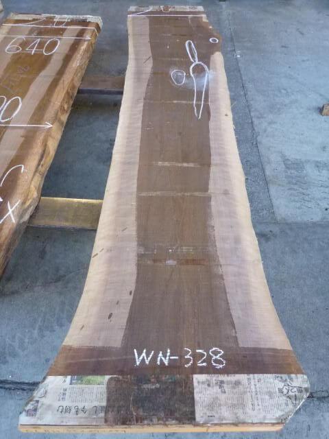 ブラック ウォールナット 両耳付き板 WN-328