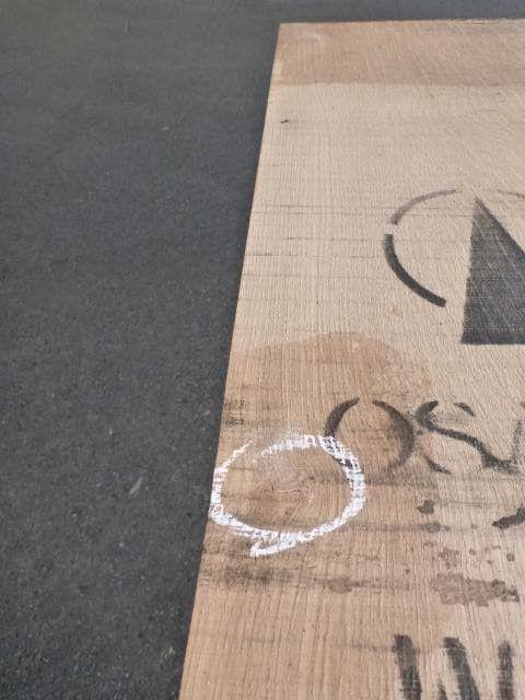 ホワイトオーク国内挽き柾目WO-49